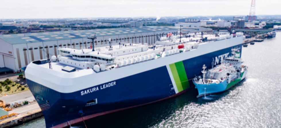 Kaguya Conducts Japan's First Ship-to-Ship LNG Bunkering