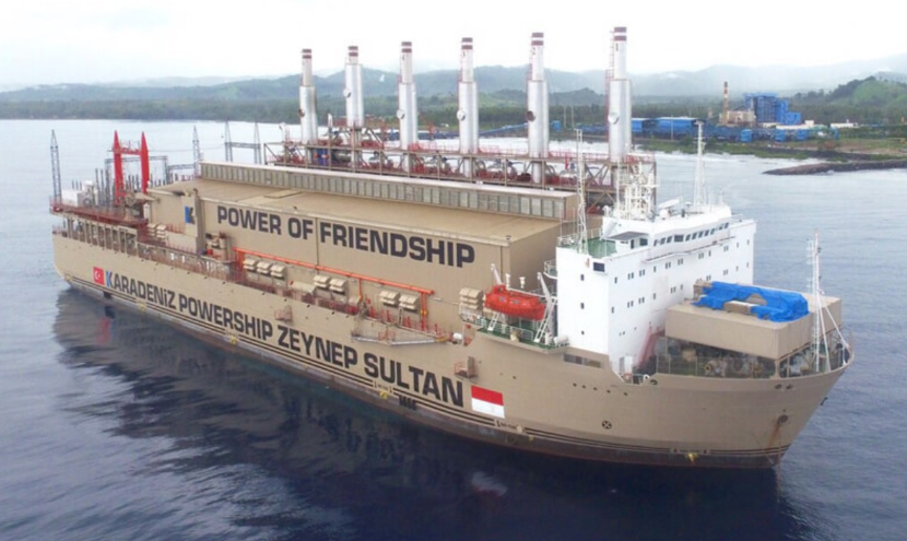 Karpowership kicks off first floating LNG-to-power project in Indonesia